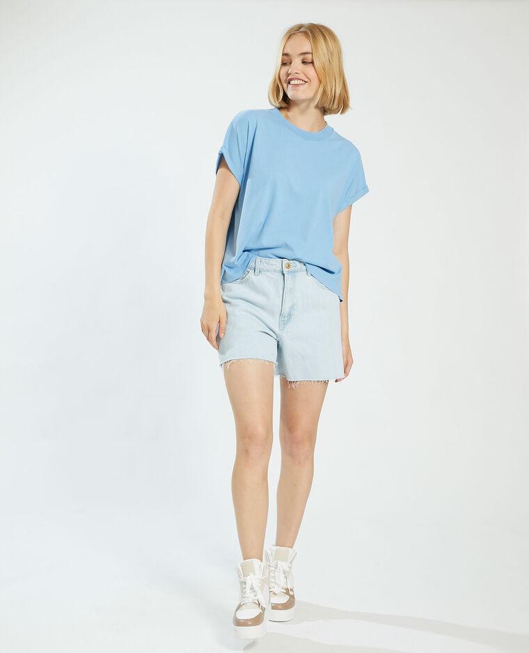 T-shirt oversize bleu - Pimkie