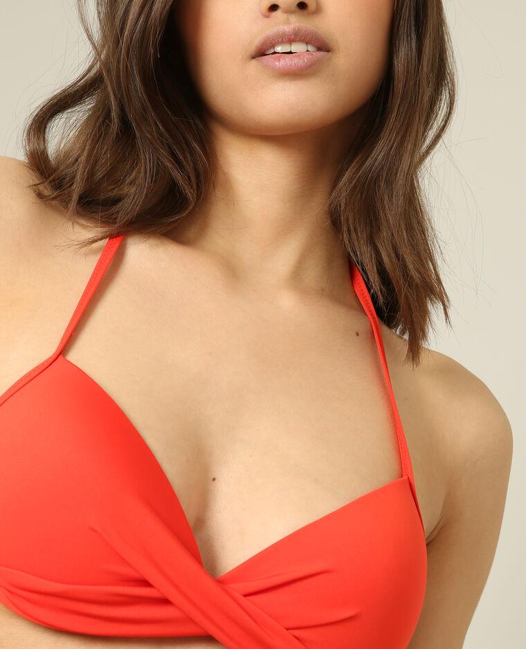 Haut de bikini corbeille rouge - Pimkie