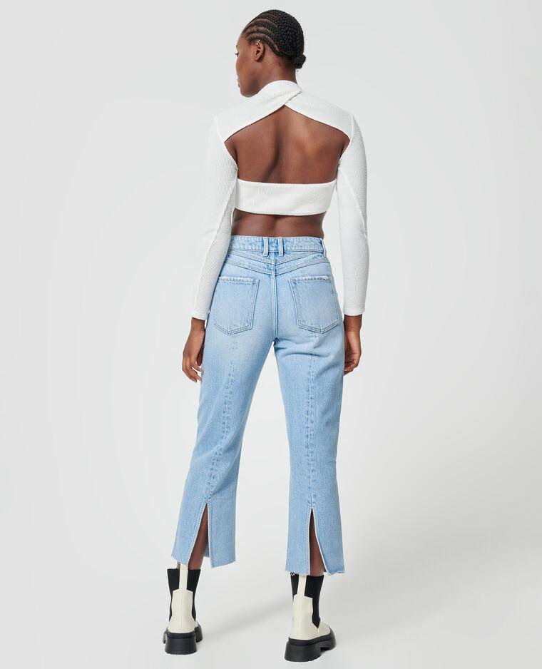 Jean straight bleu clair - Pimkie