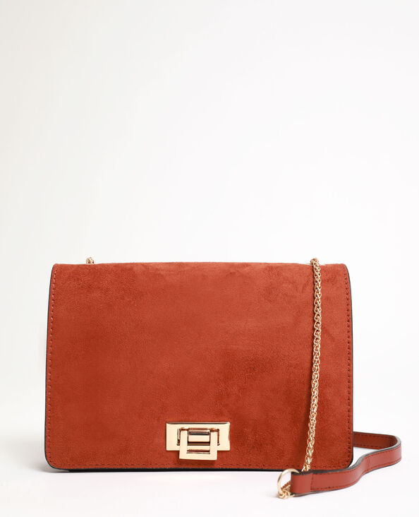Petit sac bandoulière marron