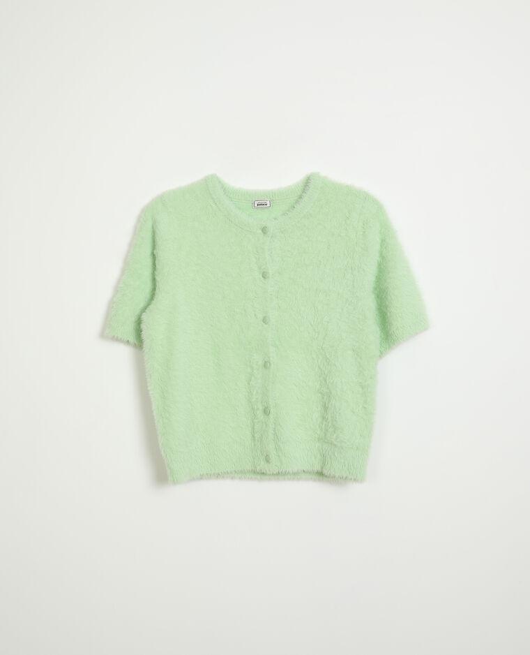 Gilet manches courtes vert - Pimkie