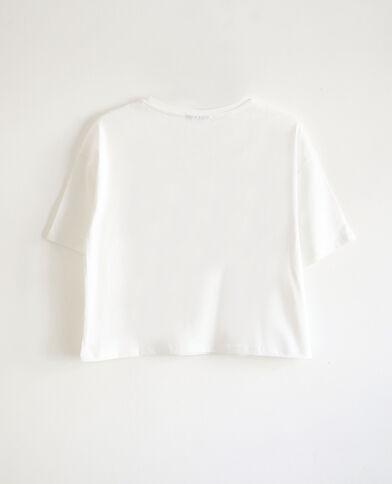 T-shirt KISS blanc