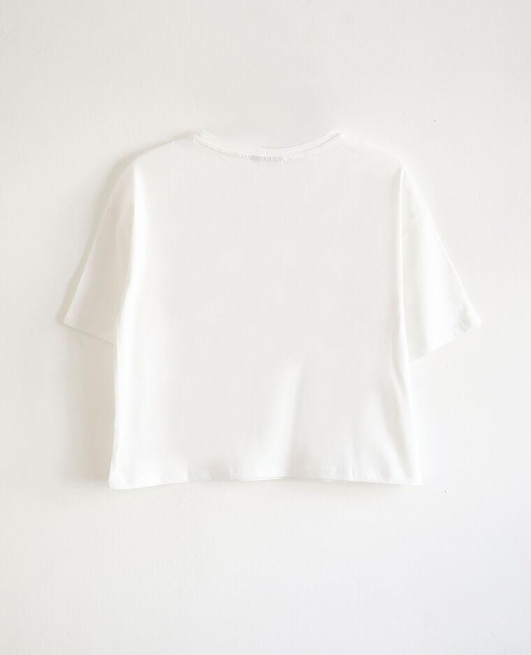 T-shirt KISS blanc - Pimkie