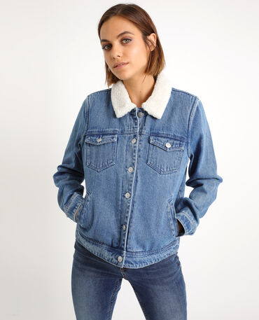 meet later new styles Veste en jean femme | Pimkie