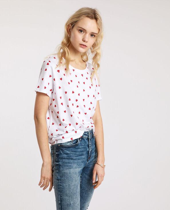 T-shirt graphique blanc