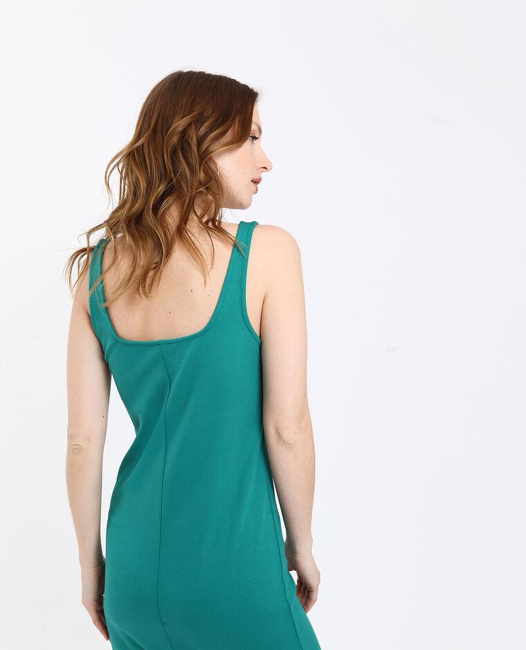 Robe moulante vert