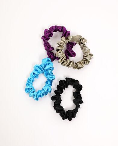 Lot de 4 chouchous violet - Pimkie