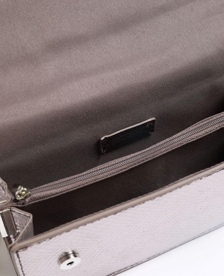 Petit sac python gris