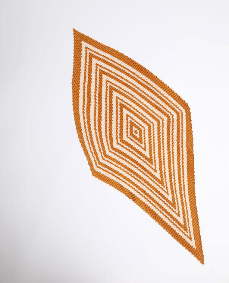 Foulard plissé Camel - Pimkie