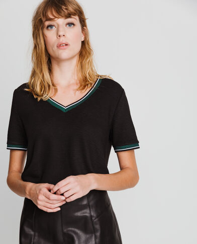 T-shirt sporty noir
