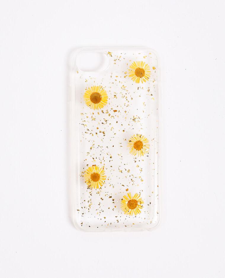 Coque à fleurs compatible iPhone