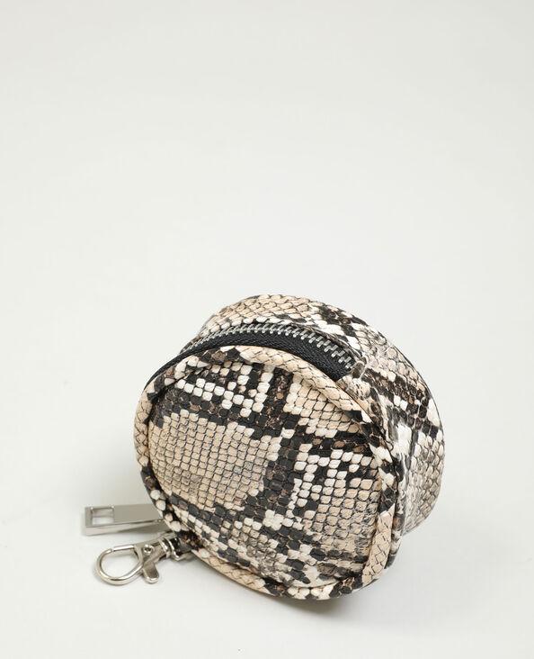 Porte-monnaie python Camel - Pimkie