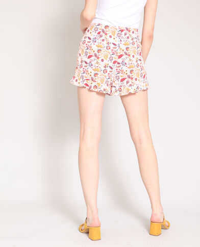 Short fluide rose poudré