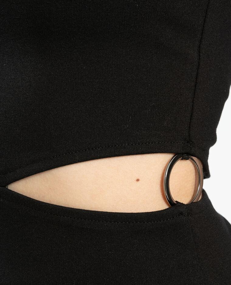 Top asymétrique noir - Pimkie