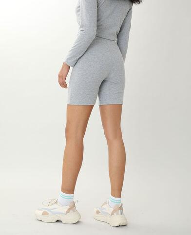Short tout doux gris