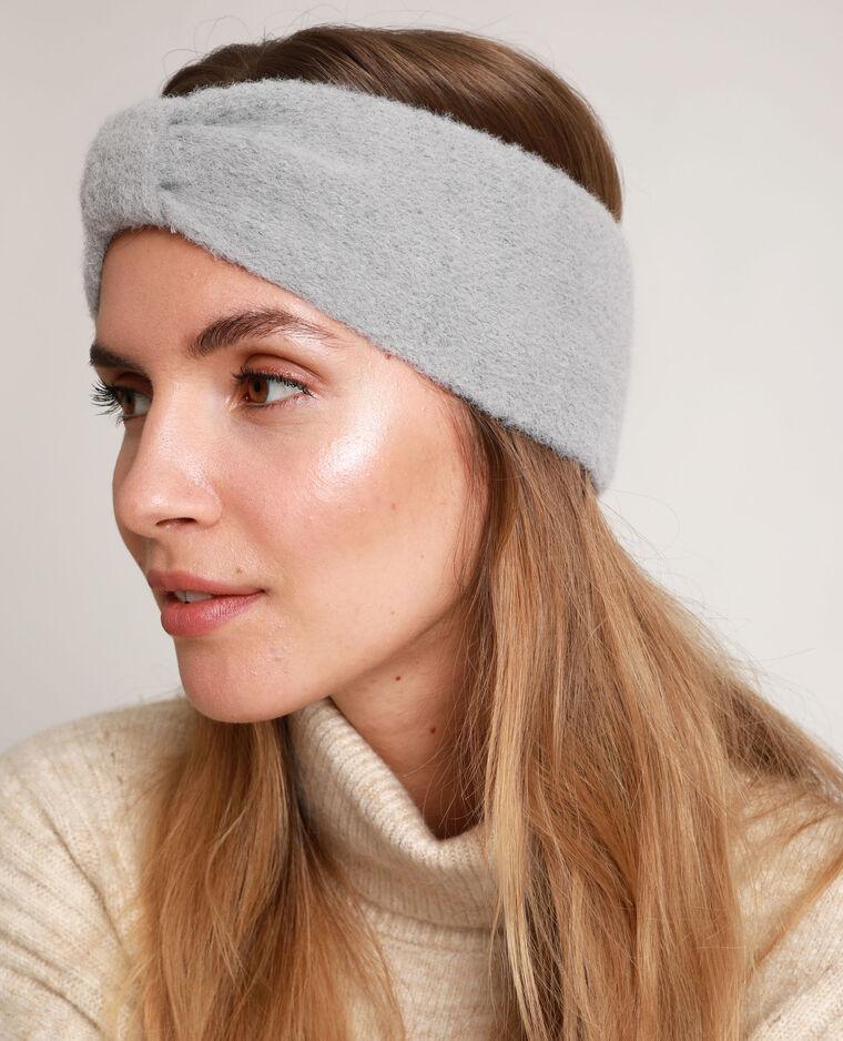 Headband à nœud gris perle - Pimkie