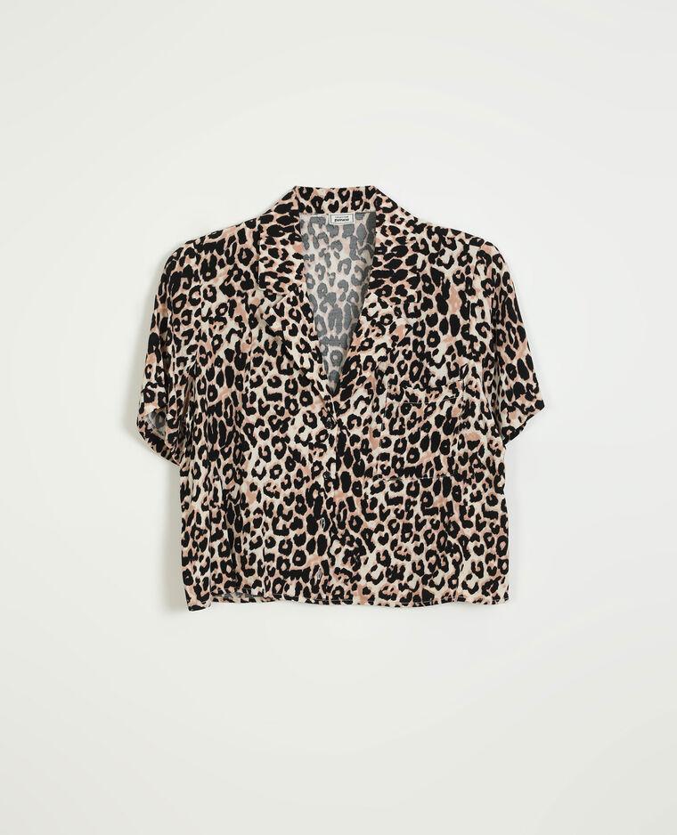 Chemise léopard beige - Pimkie