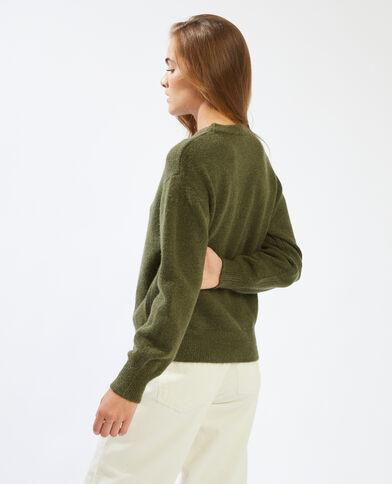 Pull basique vert - Pimkie