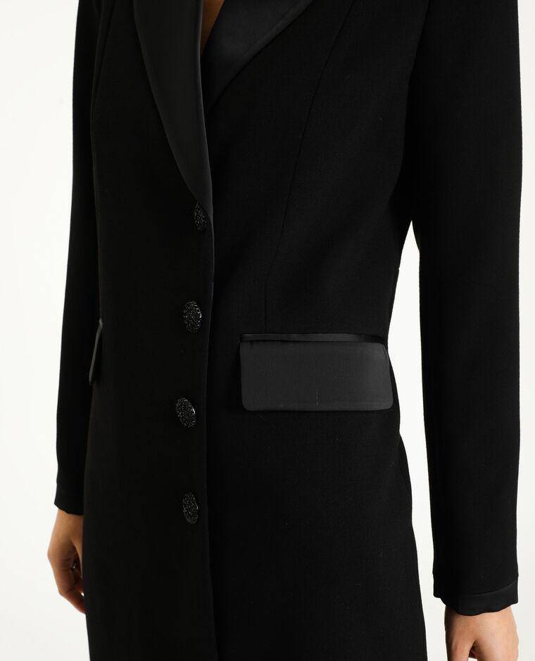 Manteau blazer noir - Pimkie