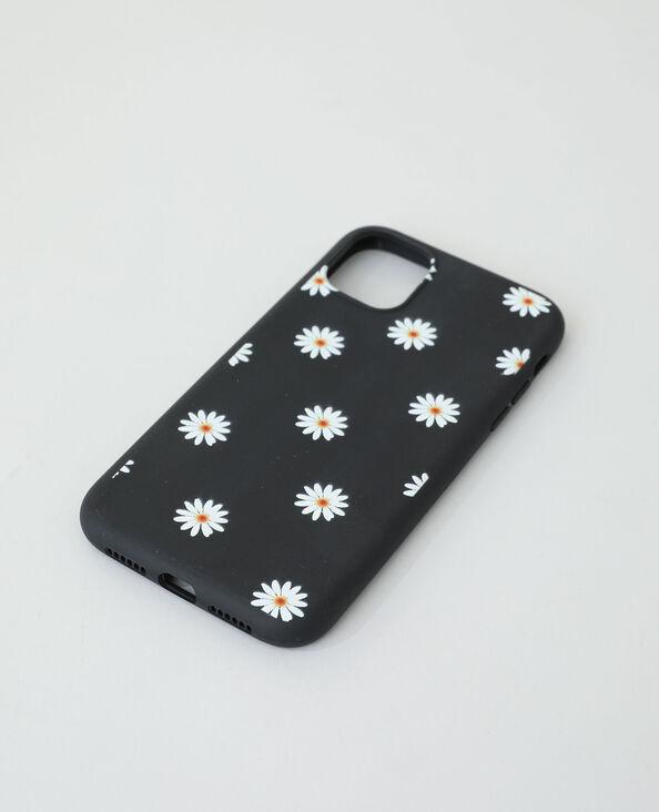Coque compatible iPhone noir + jaune - Pimkie
