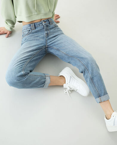 Jean mom bleu denim - Pimkie