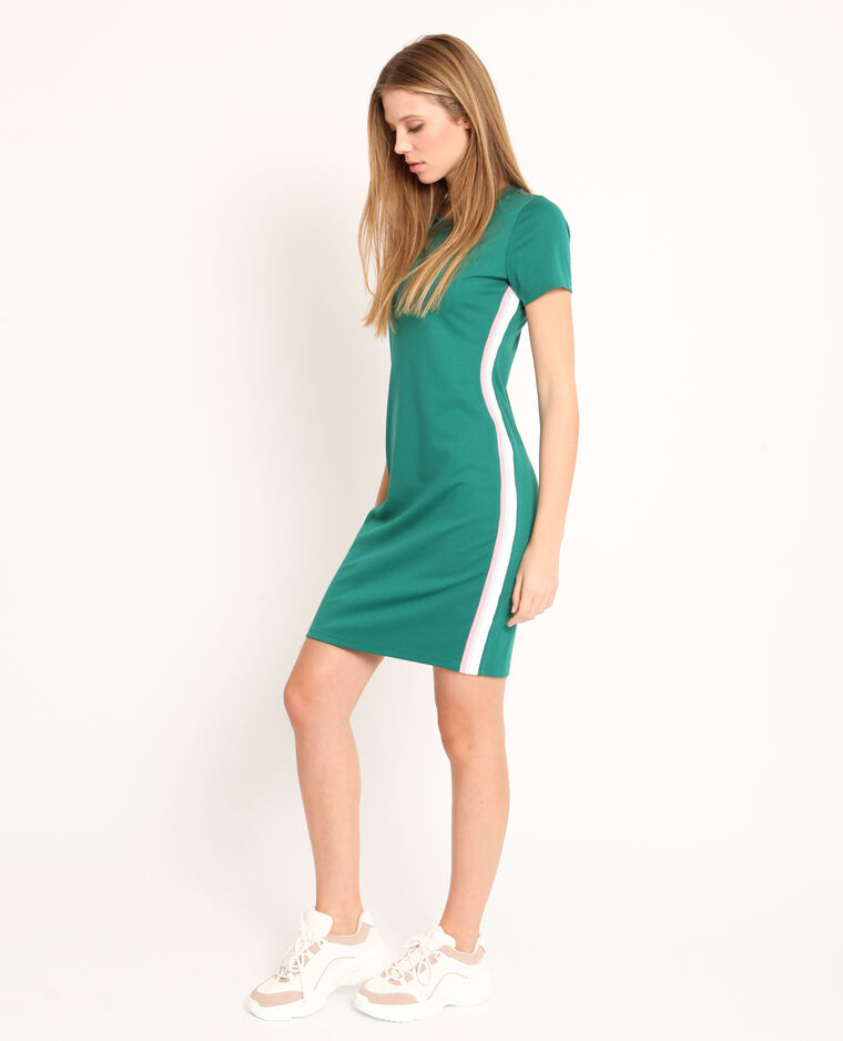 Robe t-shirt vert