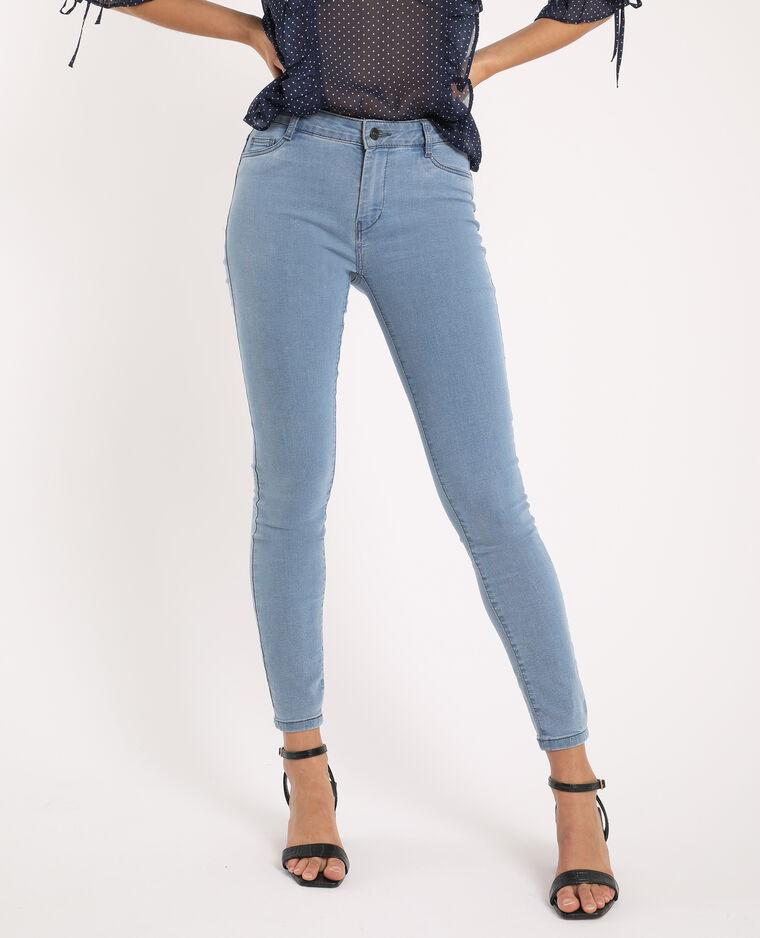 Jegging mid waist bleu jean - Pimkie