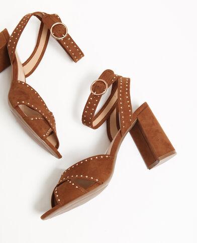 Sandales cloutées marron - Pimkie