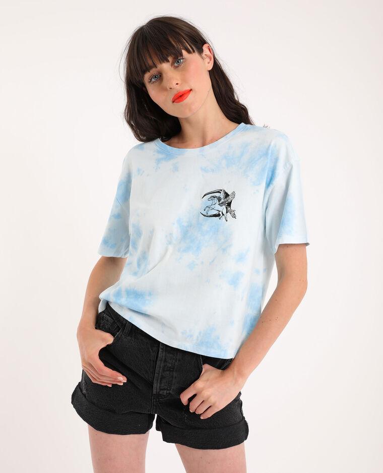 T-shirt tie & dye bleu - Pimkie