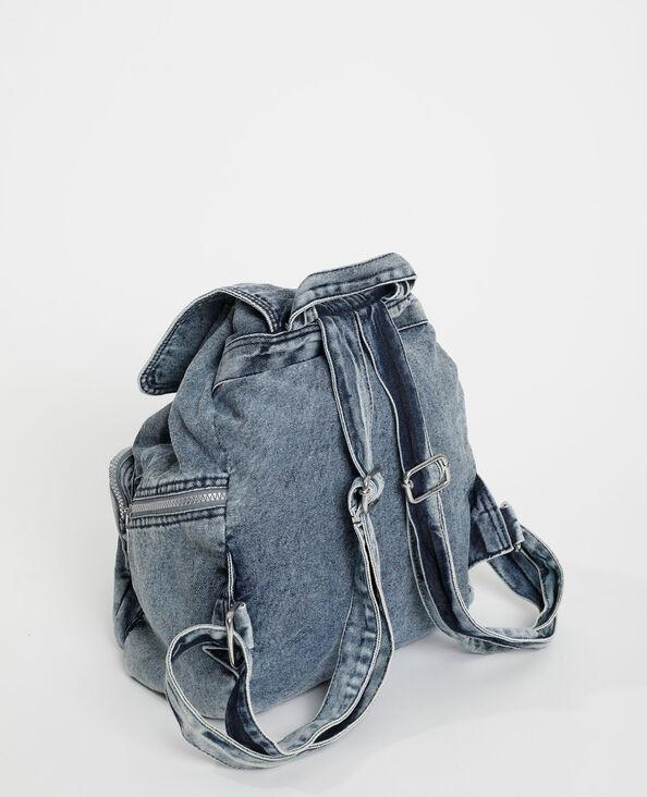 Sac à dos en jean bleu - Pimkie