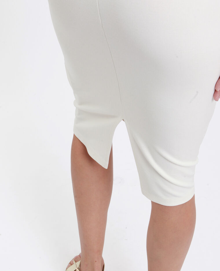 Robe moulante blanc cassé - Pimkie