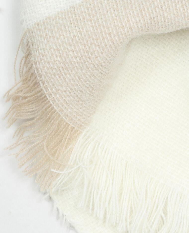 43dbab431566 Echarpe plaid à carreaux blanc - 902126901B38   Pimkie