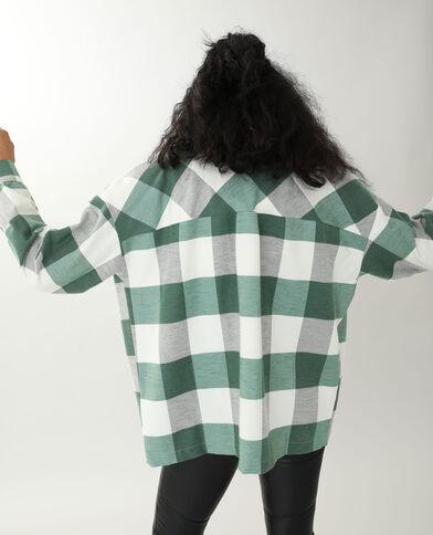 Chemise chaude blanc cassé - Pimkie