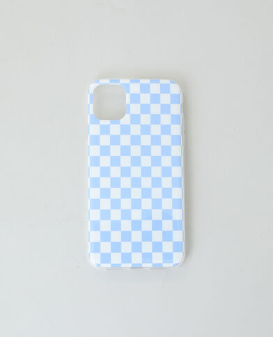 Coque compatible iPhone bleu