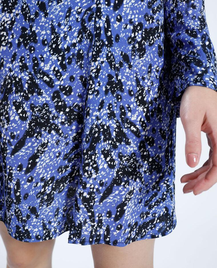 Robe courte fantaisie violet - Pimkie