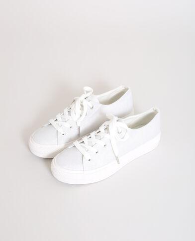 CRS18 Dotsneaker, Baskets Femmes, Blanc (Blanc), 40 EUPimkie