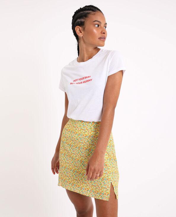 T-shirt basique écru - Pimkie