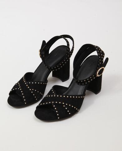 Sandales à clous noir - Pimkie