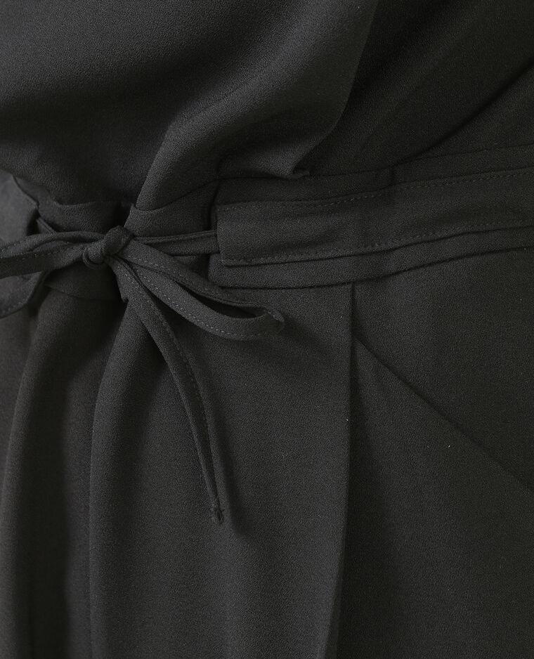Combinaison short noir