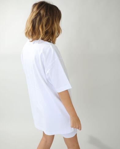 T-shirt basique oversize blanc - Pimkie