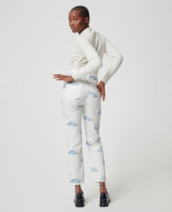 Jean nuages blanc - Pimkie