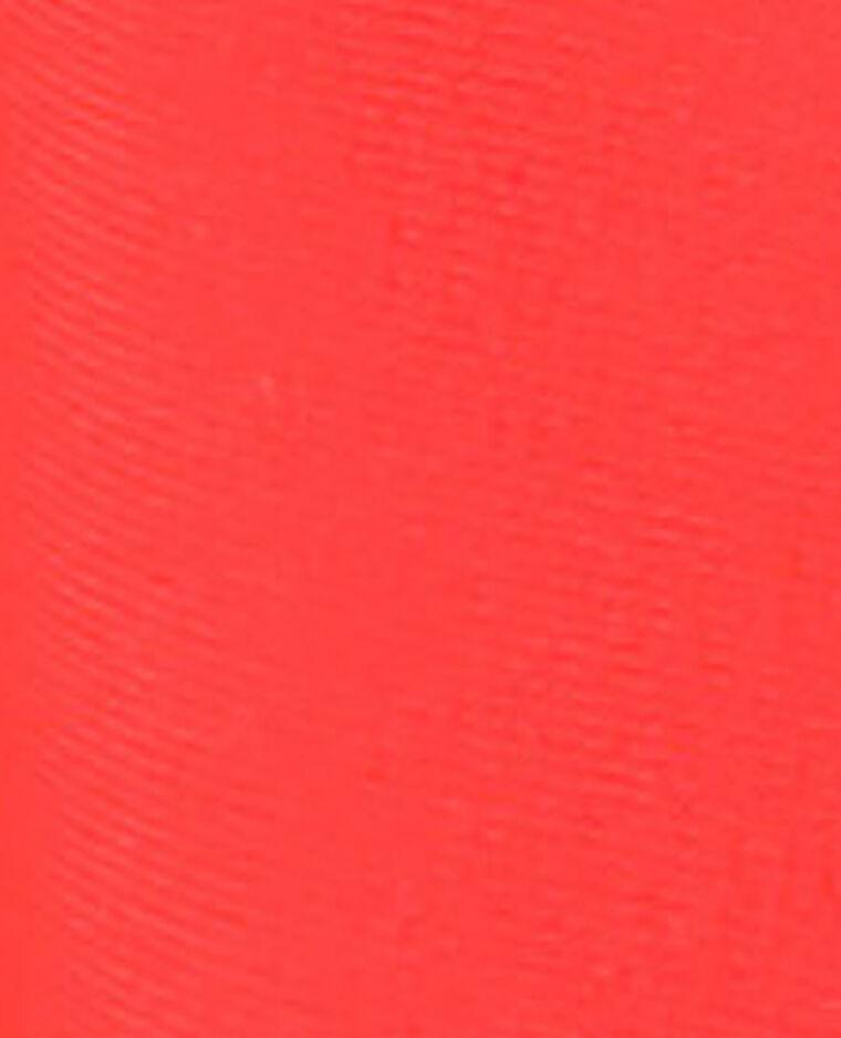 Haut de bikini corbeille rouge