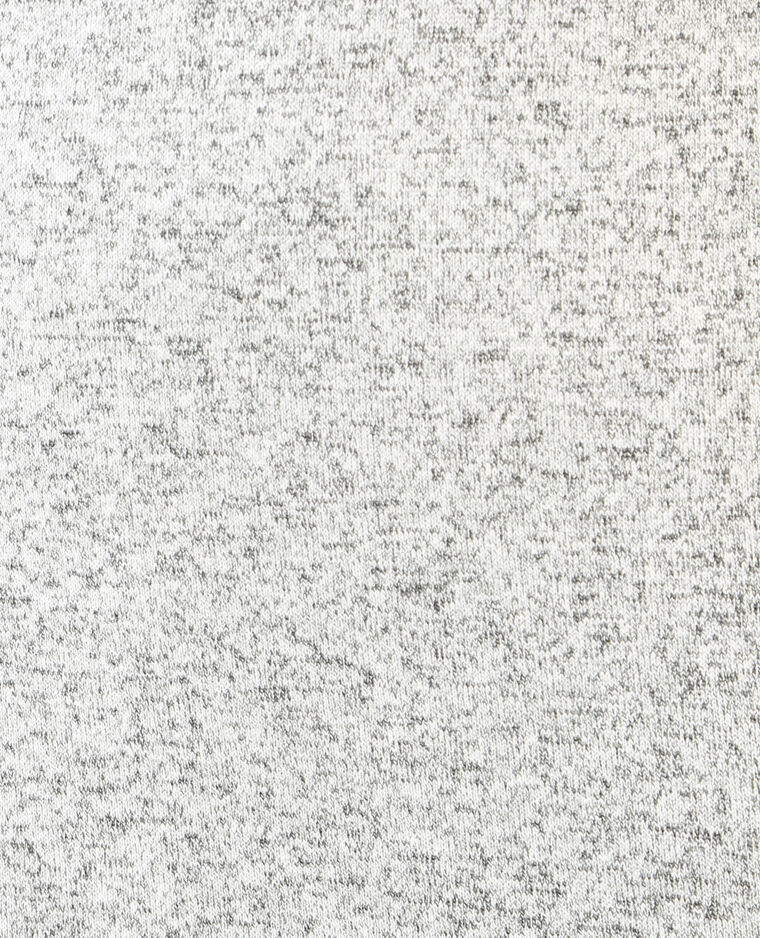 a757ea3c04 Robe maille col choker gris chiné - 780592830J08 | Pimkie