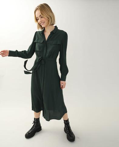 Robe-chemise vert - Pimkie