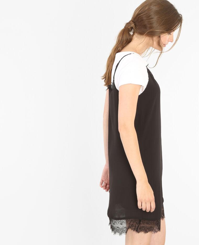 Robe dentelle noir