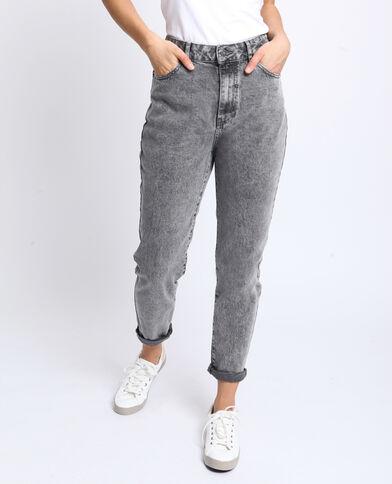0ea7ae151bd71 Jean taille haute gris