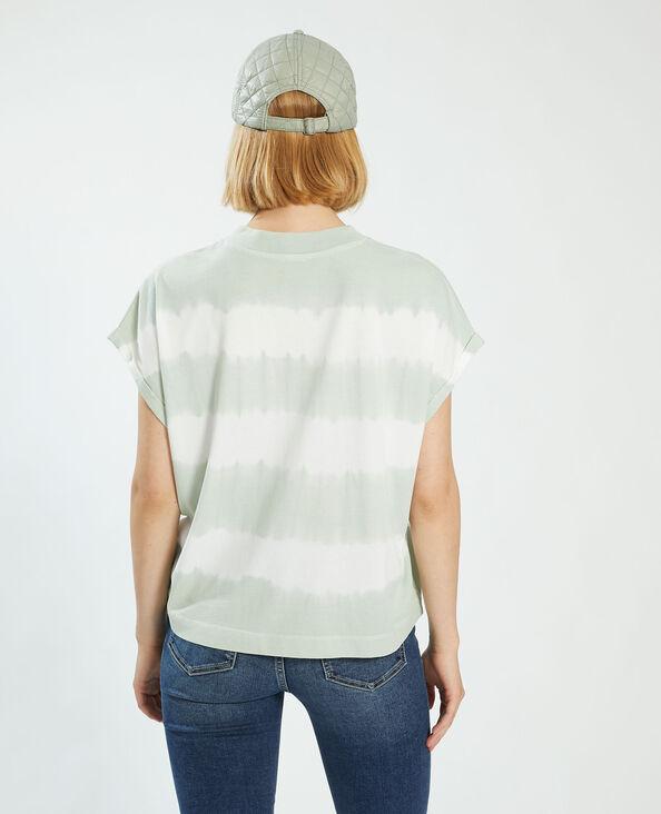 T-shirt tie and dye vert - Pimkie