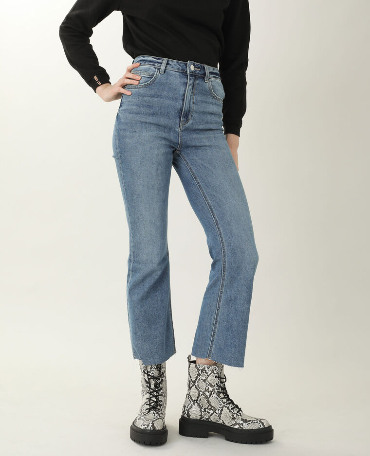 Jean boot cut high waist bleu denim - Pimkie