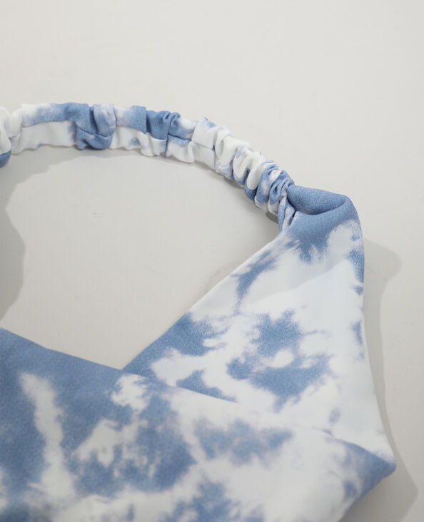 Foulard fantaisie élastique blanc - Pimkie