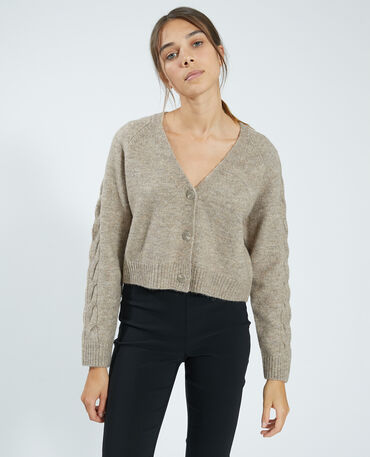 Pull femme, gilet femme, cardigan, pull col rond